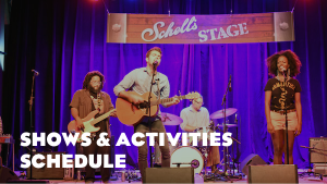 Shows & Activities Schedule